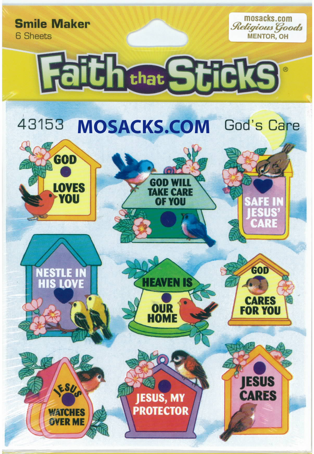 Faith That Sticks Gods Care 87-43153