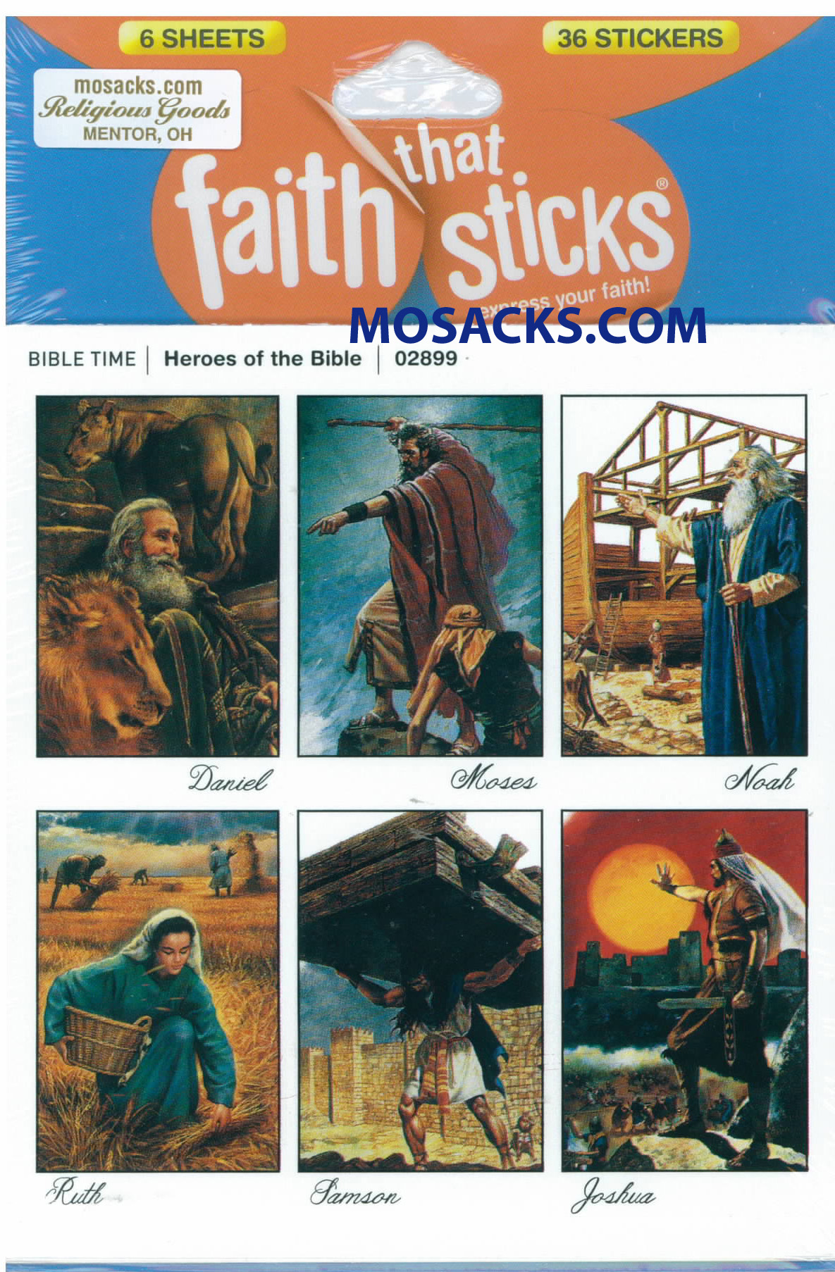 Faith That Sticks Heroes Of The Bible 87-02899