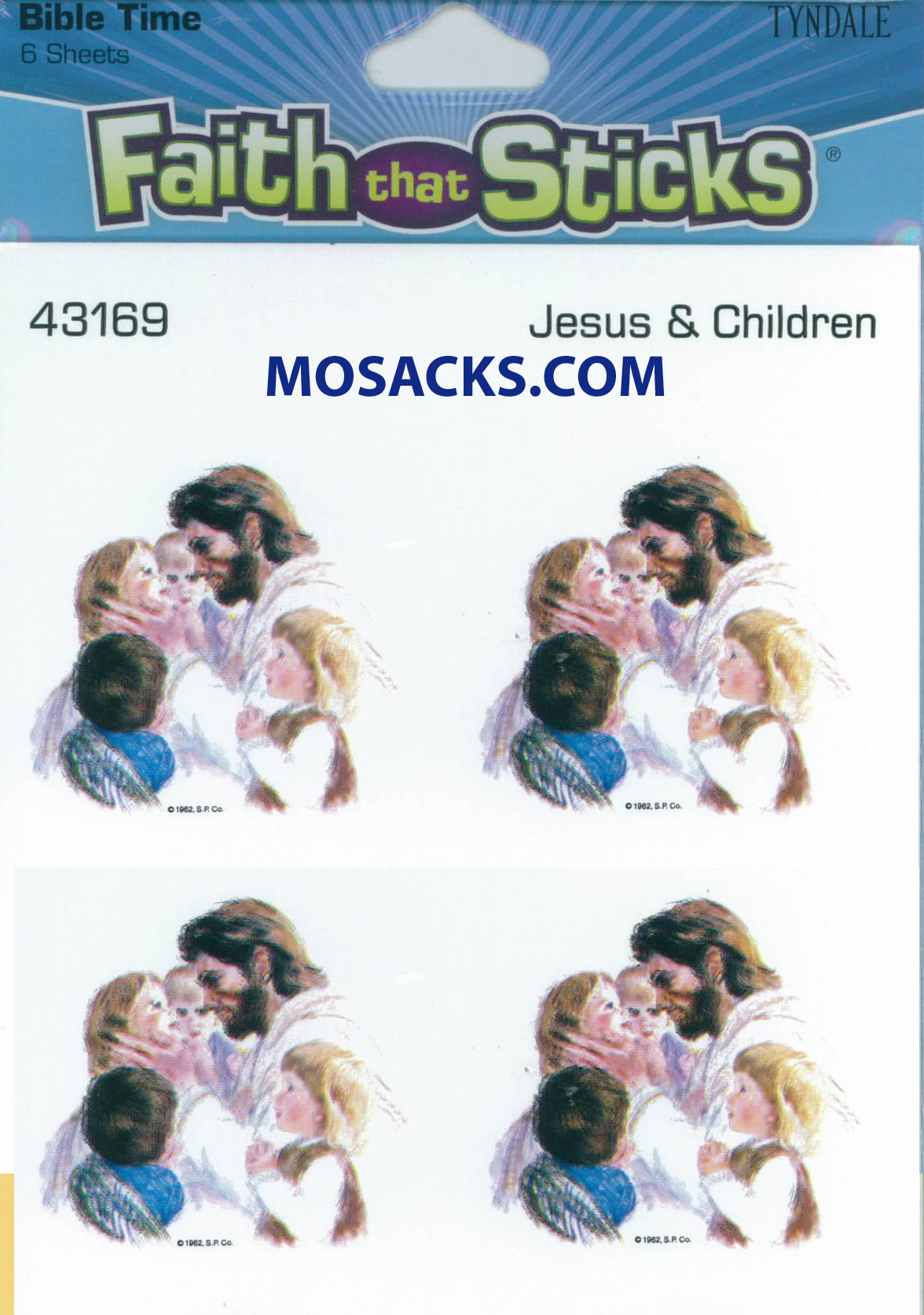 Faith That Sticks Jesus And Children 87-43169