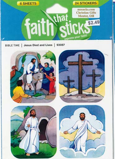 Faith That Sticks Jesus Died And Lives 87-93087