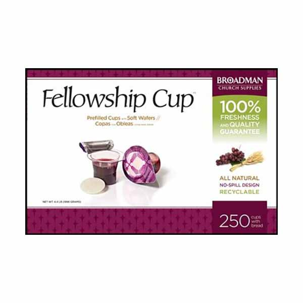 Fellowship Cup Prefilled Communion Cup 250 In Box 422-081407011578