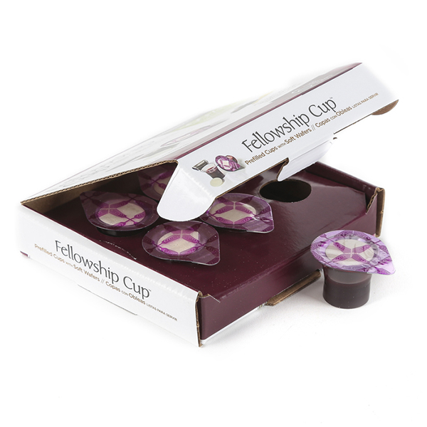 Fellowship Cup Prefilled Communion Cup 6 In Box 422-081407014005