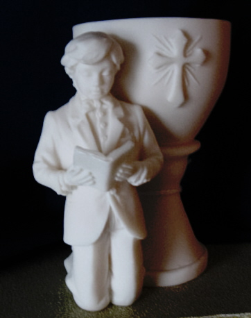First Communion Boy Figure #AF1576W