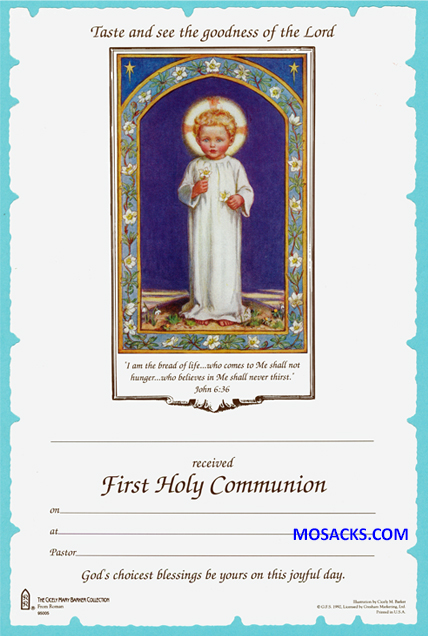Confirmation Certificate - 22875