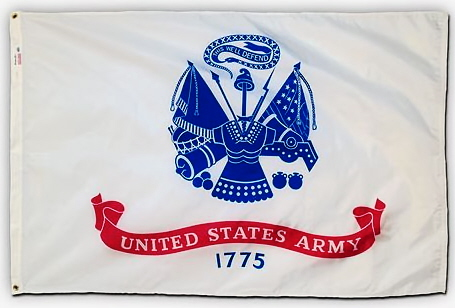 Flags U. S. Military Printed 100% Nylon Army 3ft x 5ft