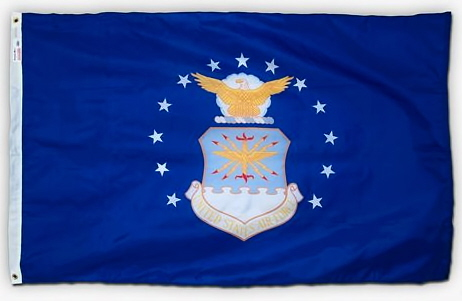 4' x 6' U. S. Air Force Printed SpectraPro Flag