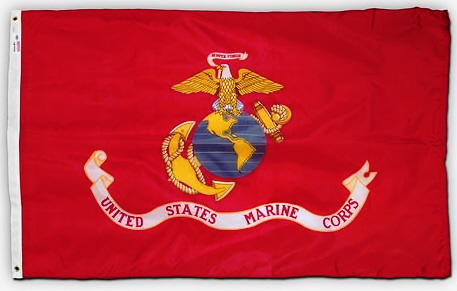 3' x 5' U. S. Marine Corps Printed SpectraPro Flag