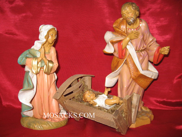Fontanini 12 Inch Holy Family 3 Pc Set 71911