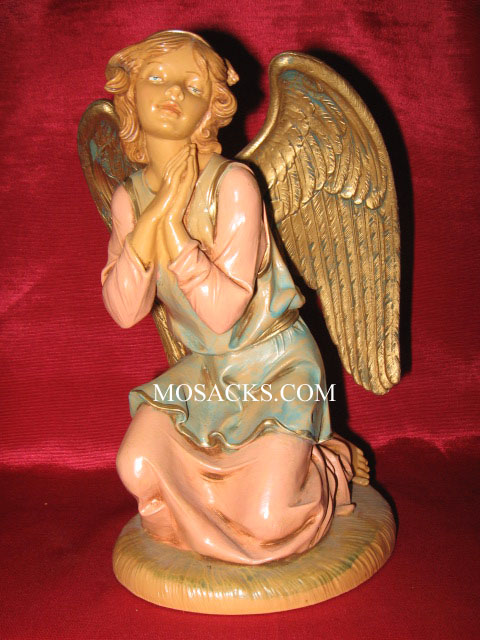 "Fontanini 12"" Kneeling Angel #52918 RETIRED"