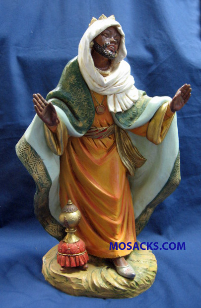 Fontanini Nativity 18-Inch Masterpiece Collection King Balthazar #53716