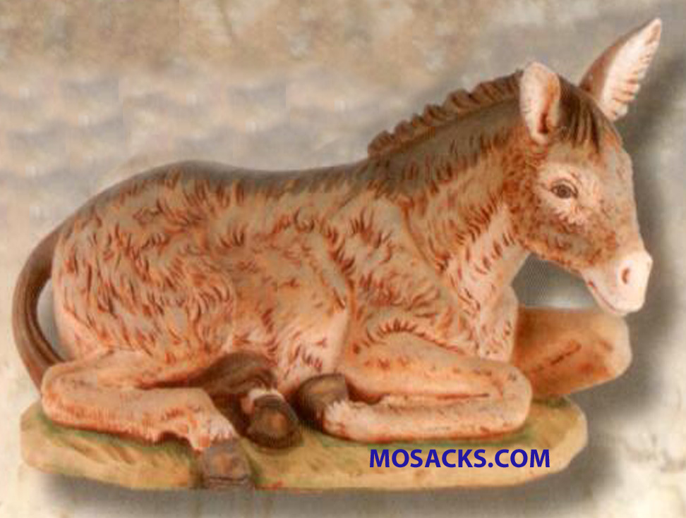 Fontanini 18-Inch Masterpiece Collection Seated Donkey #53733