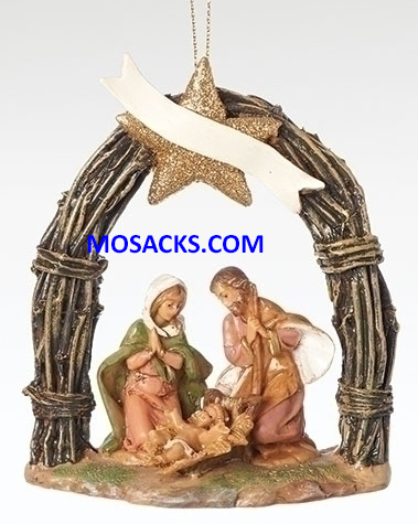 Fontanini 2018 Event Holy Family Ornament-57015