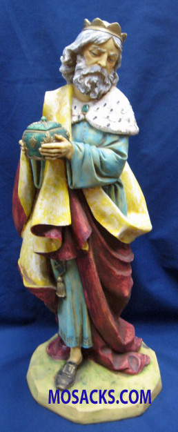 "Fontanini Nativity 20"" Masterpiece Collection King Melchior #53414 RETIRED"