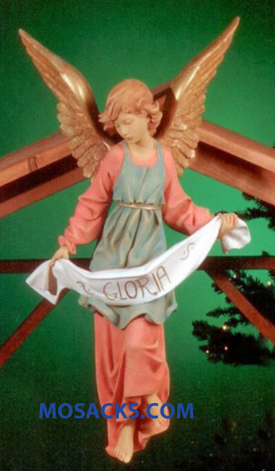 "Fontanini 27"" Masterpiece Nativity Collection Gloria Angel #53117"
