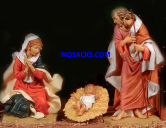 "Fontanini Nativity 27"" Masterpiece Collection Holy Family 3-Pc. Set #51111"