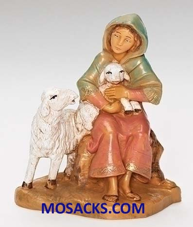 Fontanini 3.5 Inch Nativity Nahome Shepherdess 20-55064