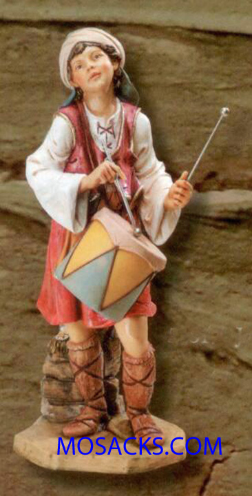 "Fontanini 50"" Masterpiece Nativity Collection Jareth Drummer Boy #52317"