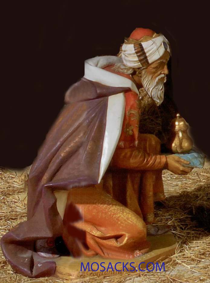 "Fontanini 50"" Masterpiece Nativity Collection King Gaspar #52315"