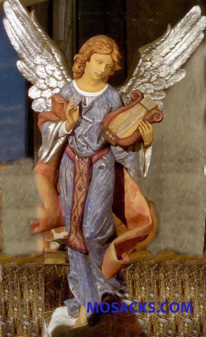 "Fontanini Nativity 50"" Masterpiece Collection Angel Standing Angel #52329"