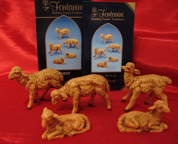 "Fontanini 5"" Nativity Figures"