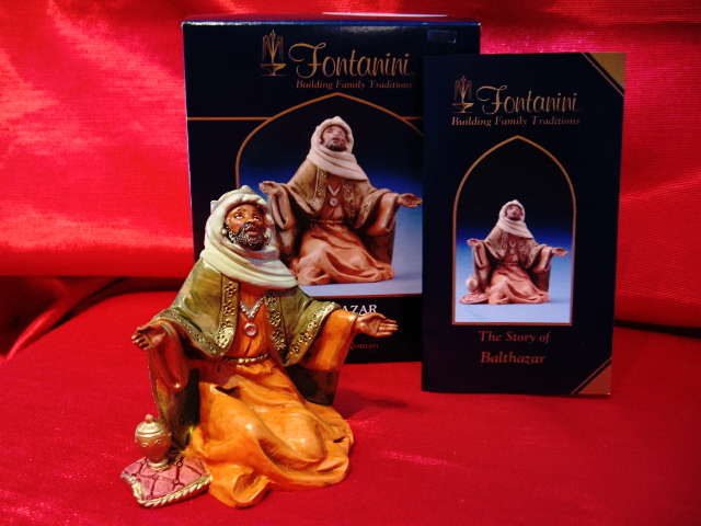 Fontanini 5 Inch Nativity Centennial King Balthazar 72189
