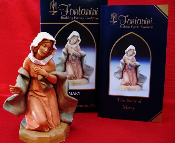 Fontanini 5 Inch Classic Nativity Mary 72512