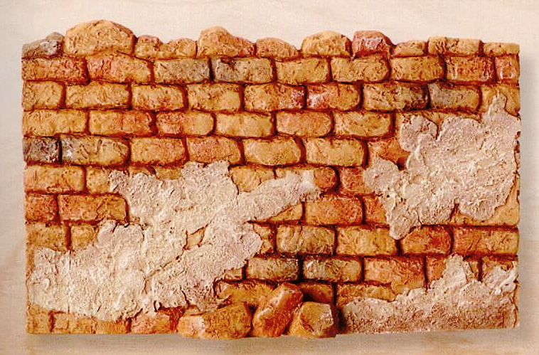"Fontanini City Wall for 5"" Scale #59526"