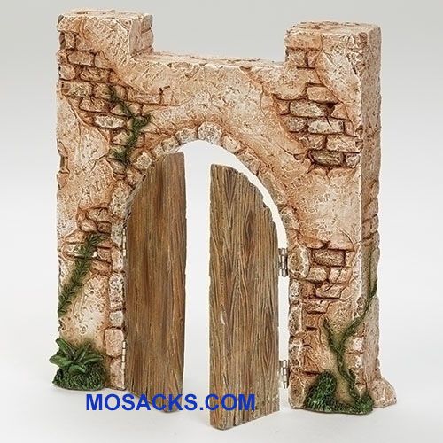 "Fontanini Entrance Gate for 5"" Scale #55609"