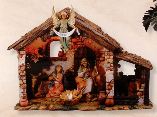 "Fontanini 5"" Nativity Sets, Stables"
