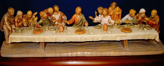 Fontanini 5 Inch Scale Last Supper #50610