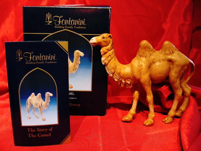 Fontanini 5 Inch Standing Camel 72683