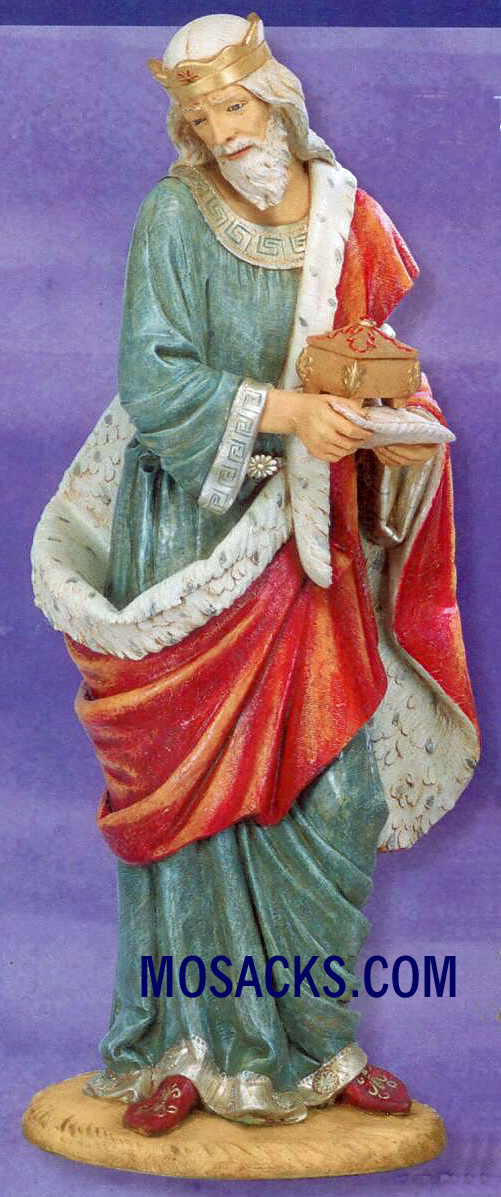 "Fontanini Nativity 70"" Masterpiece Collection King Melchior #57710"