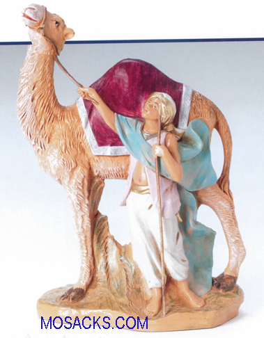 Fontanini Heirloom 7 Inch Cyrus Boy With Camel-52863