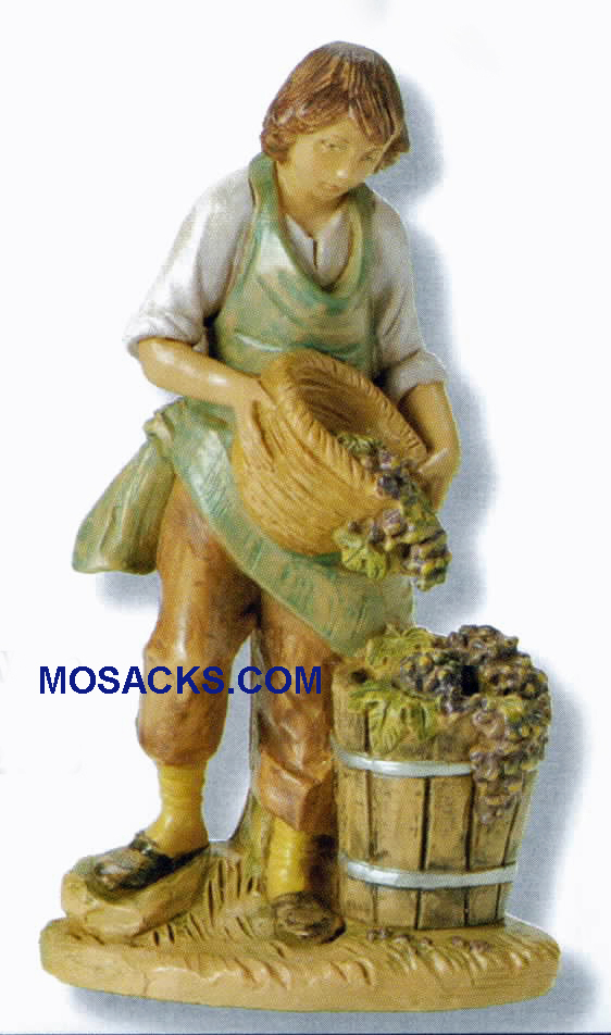 "Fontanini  Nativity 7.5"" scale Dionysius Wine Maker-52806 RETIRED"