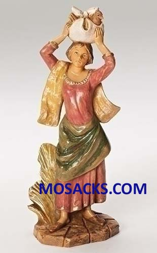 Fontanini 7.5 Inch Nativity Candace Villager 20-52874