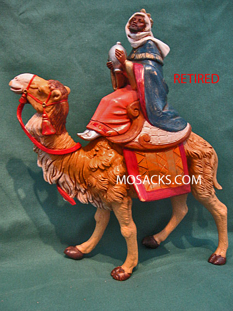 "Fontanini 7 1/2"" King Balthazar on Camel 56816 RETIRED"