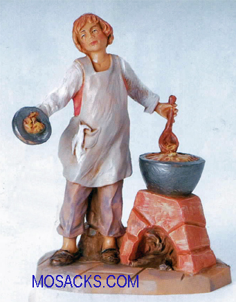 Fontanini  3.5 Inch Villager Gera Cook -55047 RETIRED