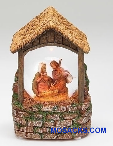 Fontanini  Lighted Holy Family Glitterdome 20-59093