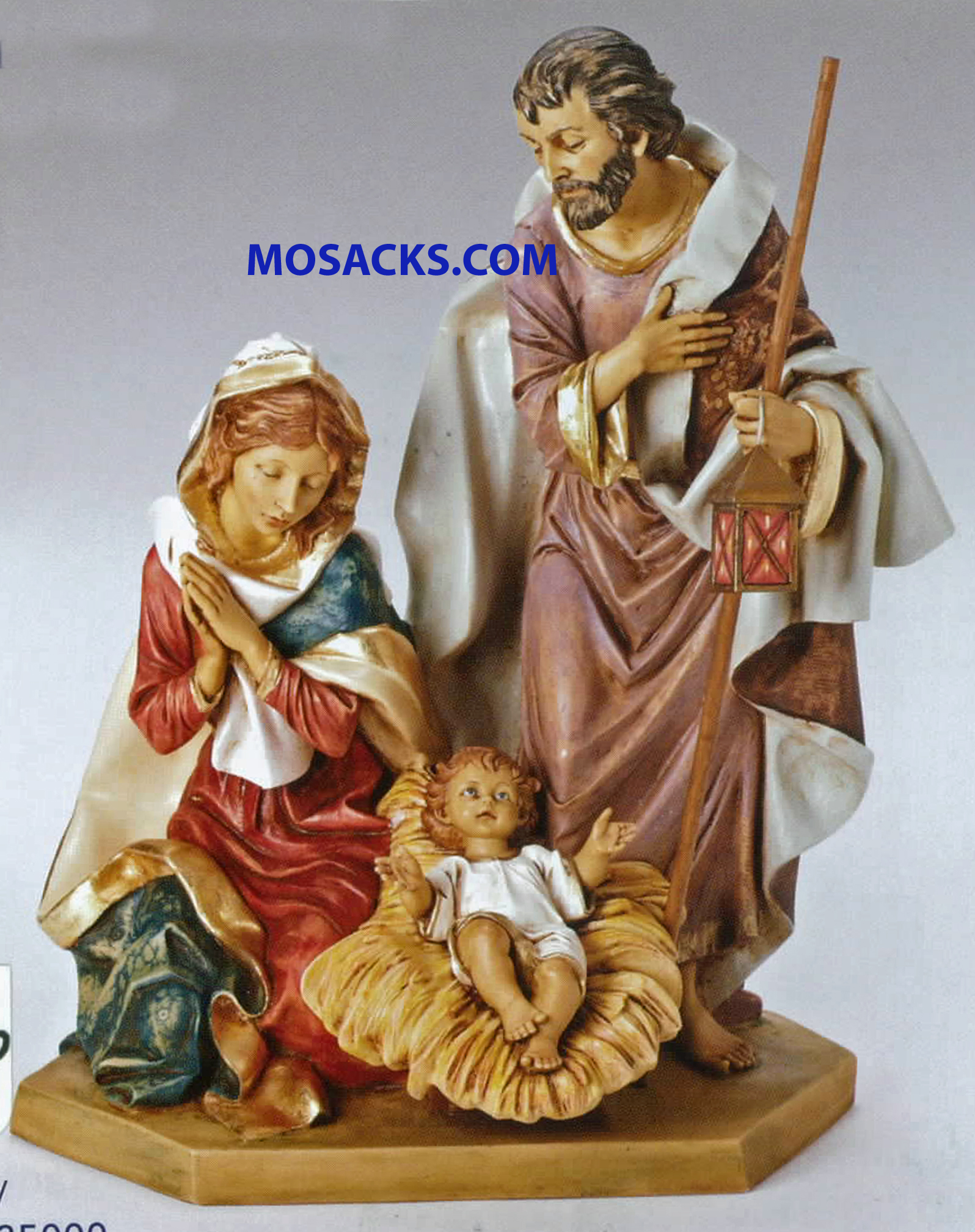 "Fontanini 27"" Masterpiece Nativity Collection Holy Family 20-53120"