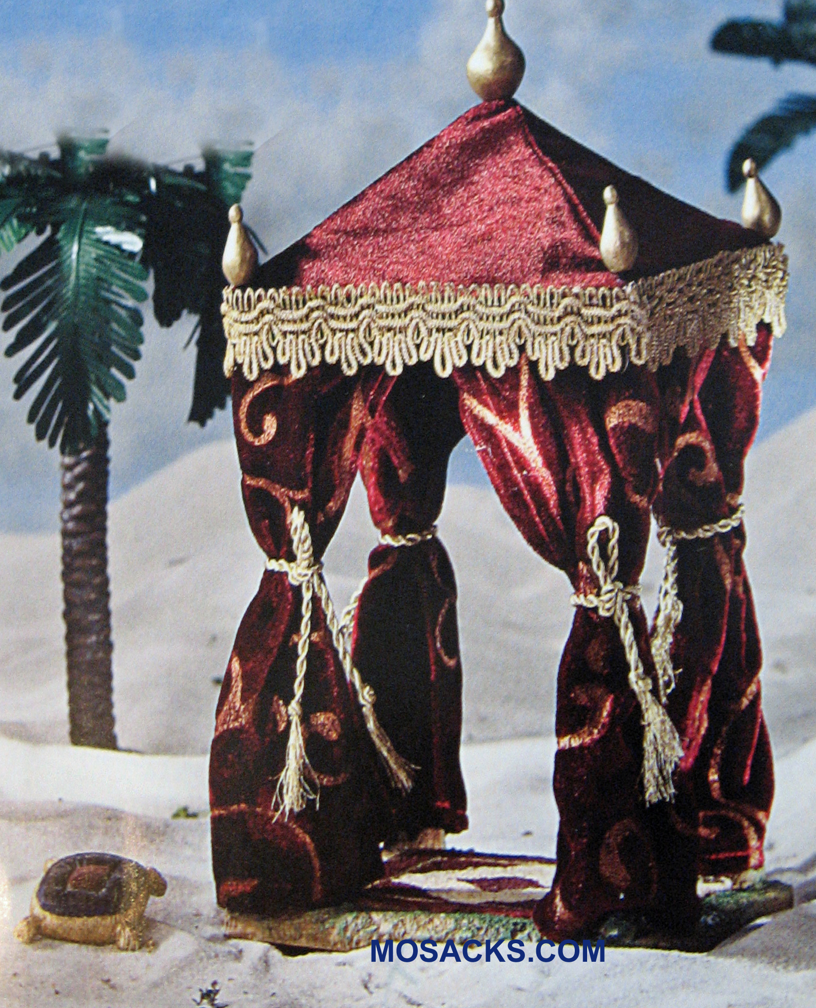 "Fontanini 5""  Nativity Red King's Tent 2-Piece Set #55567 RETIRED"