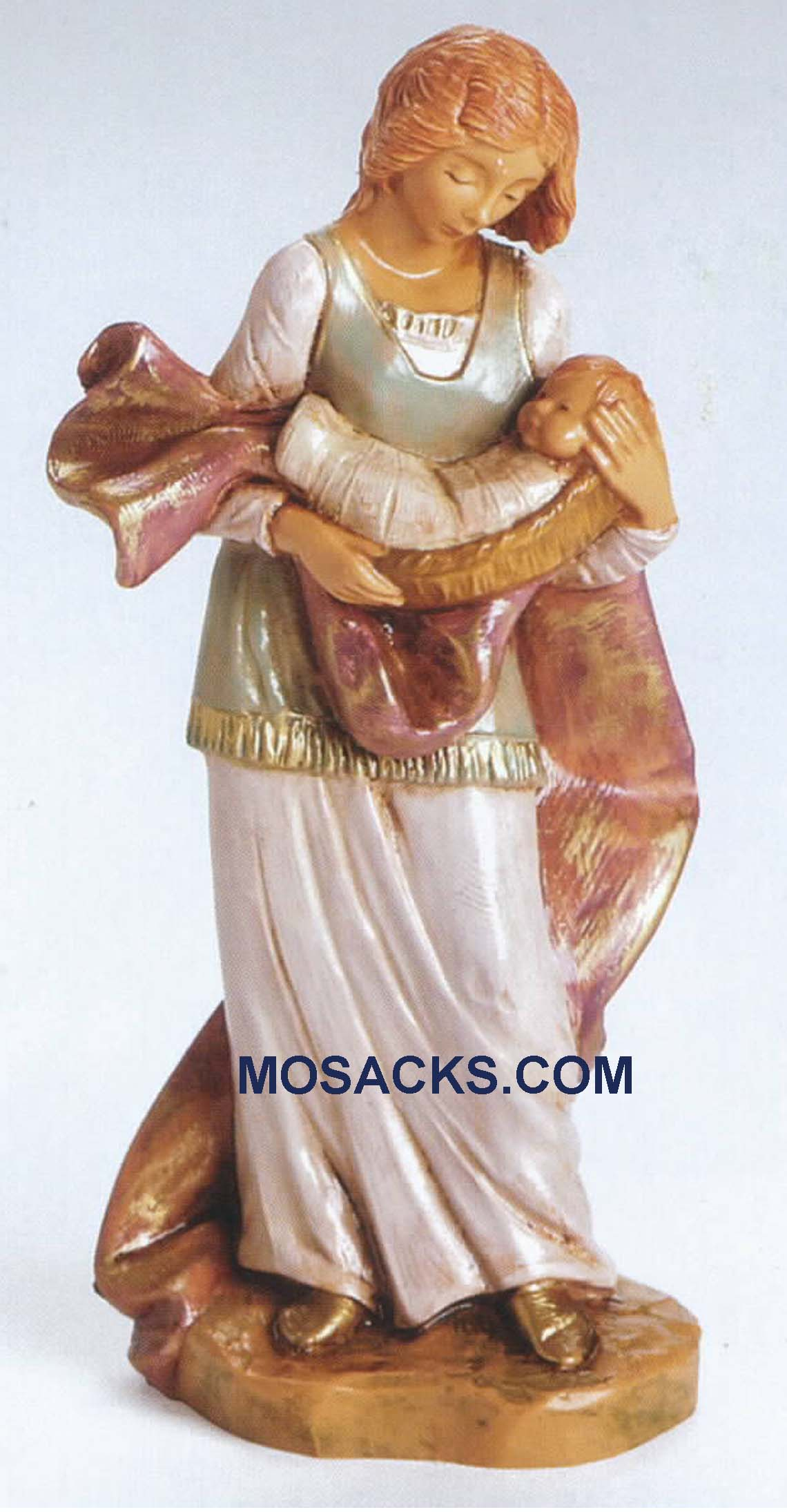 Fontanini Heirloom Nativity 5 Inch Alexandra And Baby-54067