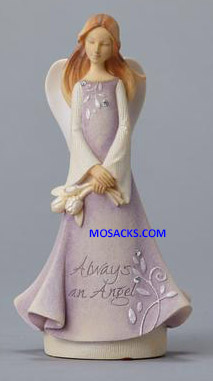 "Foundations Always An Angel Mini Figurine 4.33"" h 4025647"