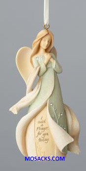 "Foundations Angel I Said A Prayer For You Today Ornament 4"" h 4058707"