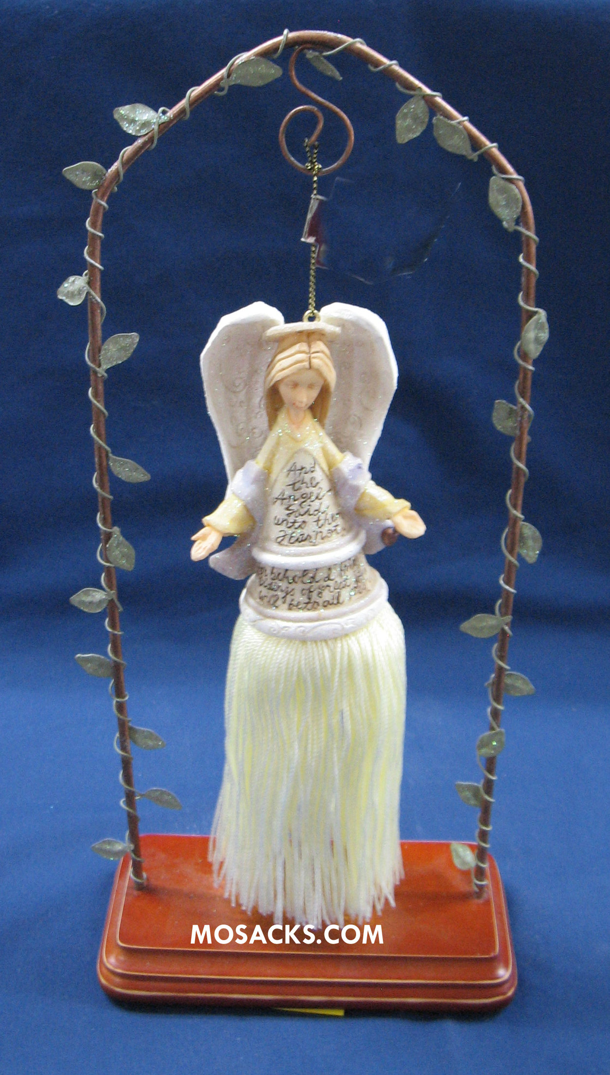 Foundations Ornament Angel With Open Arms 258-112718