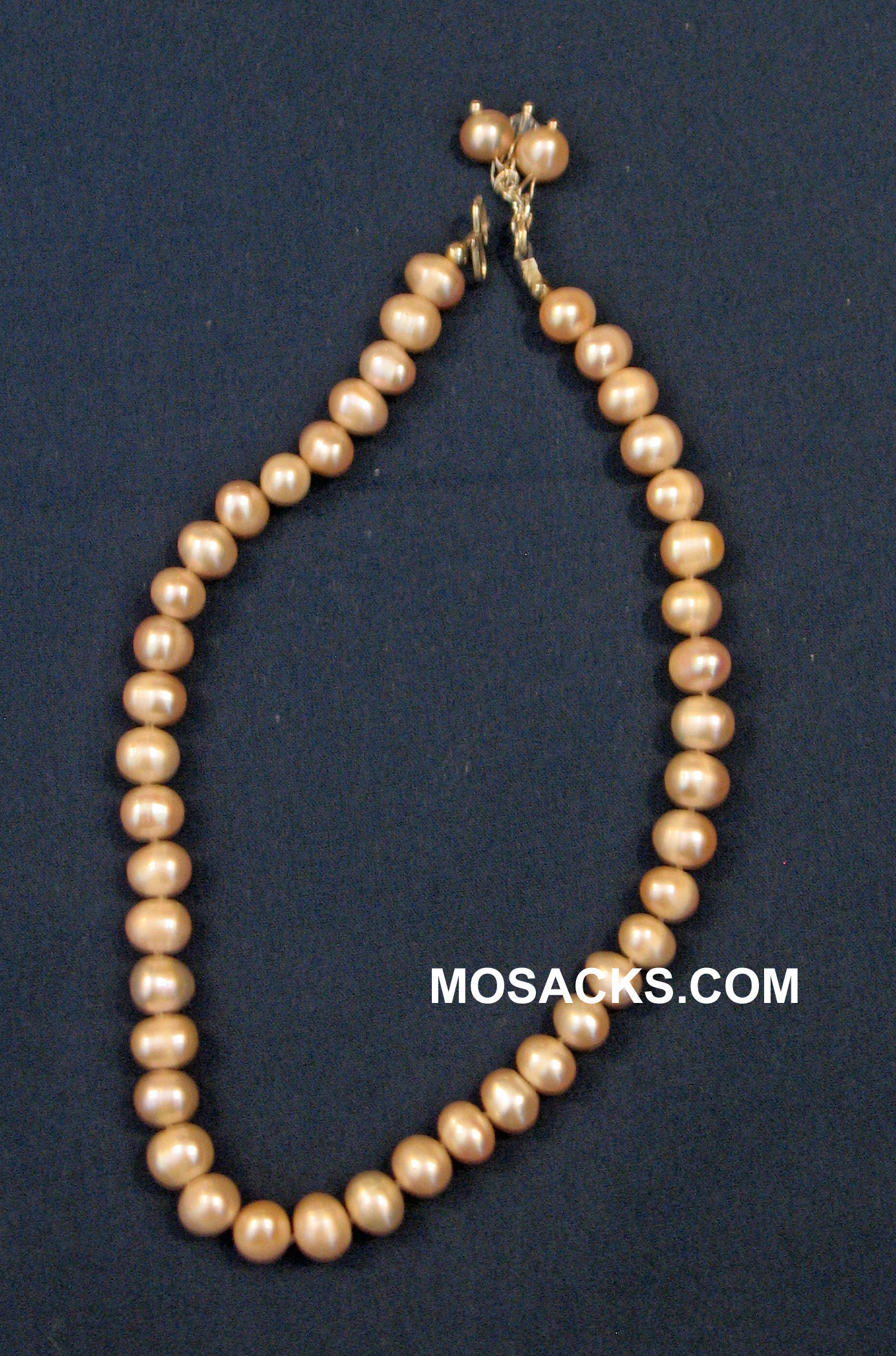 Fresh Water Pearl 12 Inch Pink Necklace 418-12-FWPPK