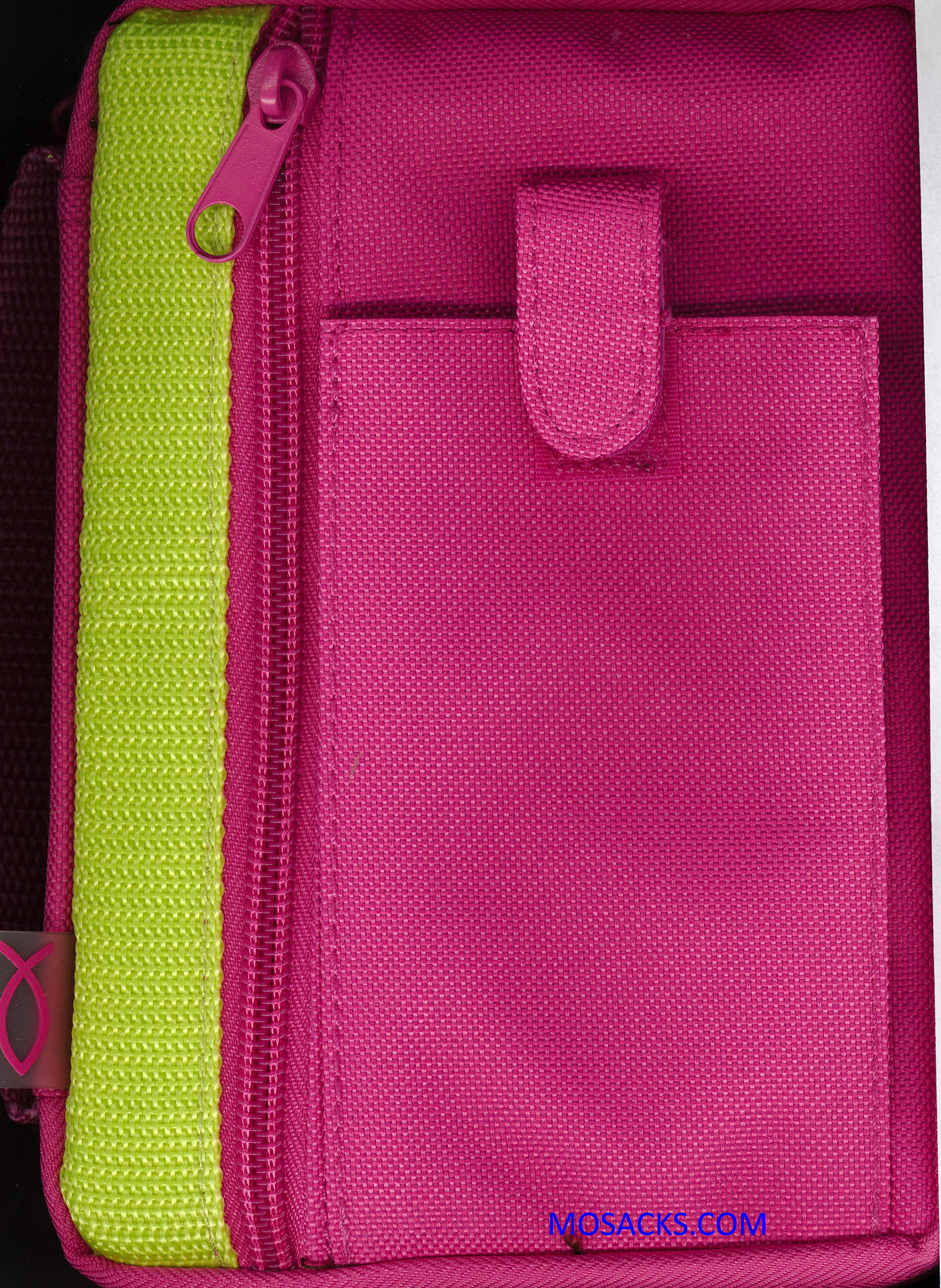 Fuchsia with Green XS Bible Cover-79643714104