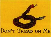 Gadsden Historical Outdoor Flag 3ft x 5ft.