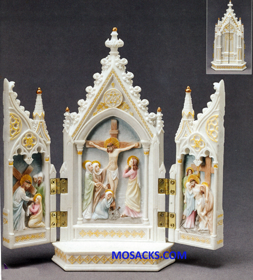 "Galleria Divina Passion of Jesus Triptych 8"" 20-45005"