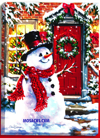 "Glow Decor Snow Place Like Home by Dona Gelsinger 18""x24""-DG1502"