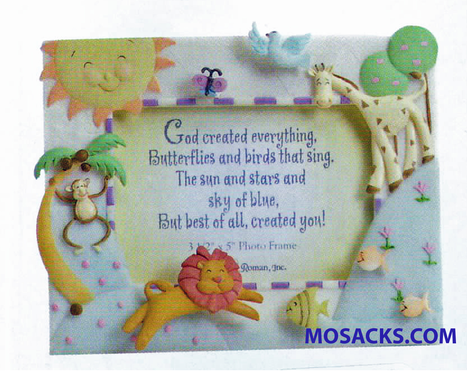God Created Everything Picture Frame-46548